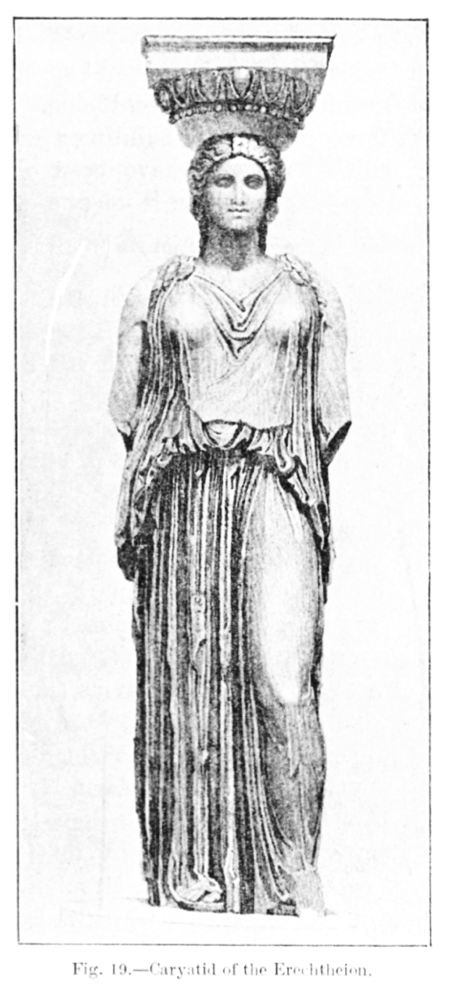 """Forms Of Antiquity: The Architectural """"Caryatid"""" & The"""