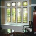 Custom made stained glass windows
