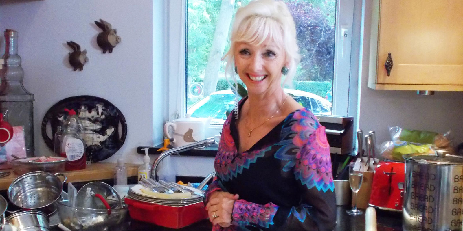 Whos Doing the Dishes QA with Debbie McGee Lady C