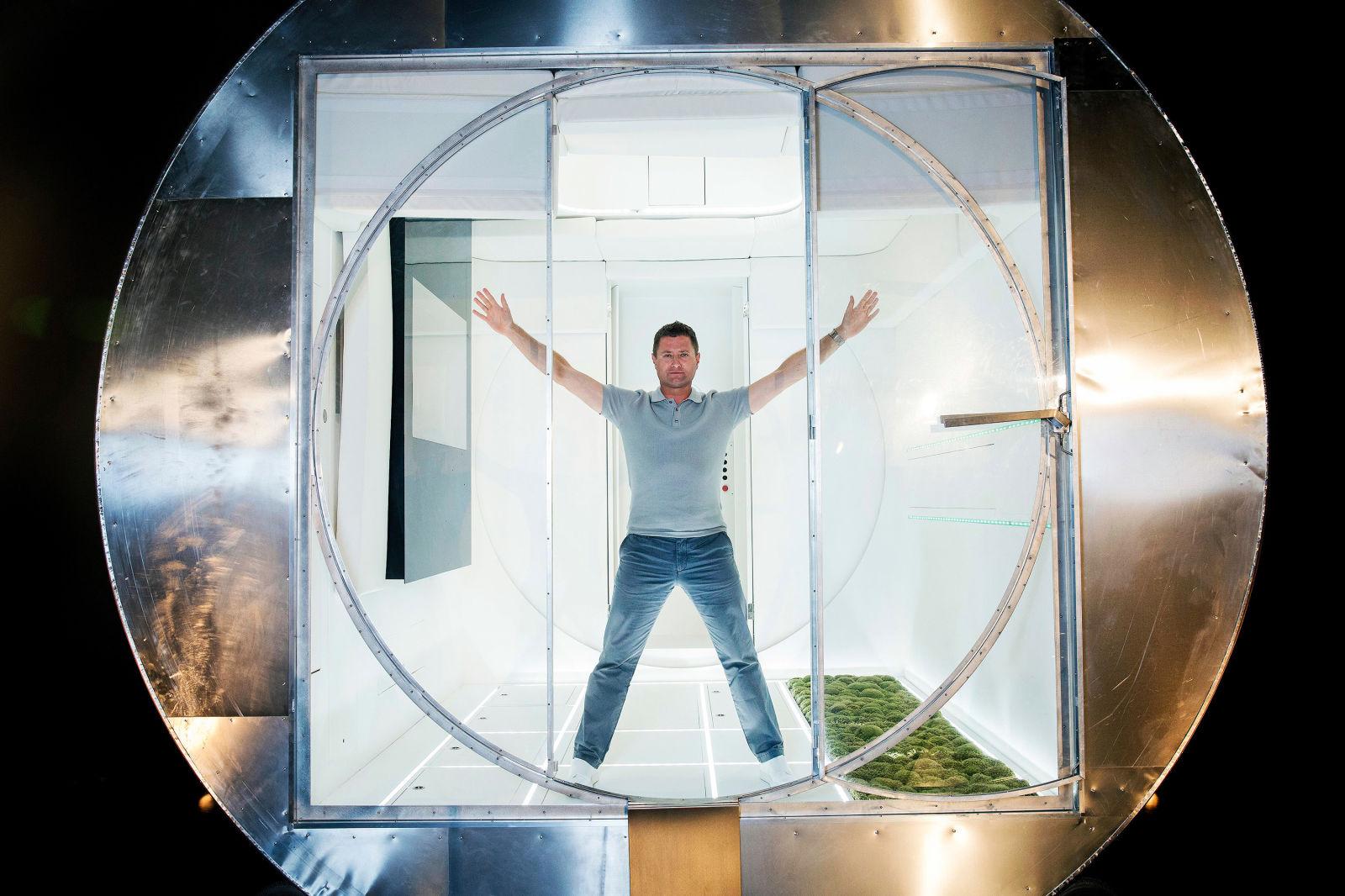 George Clarke and William Hardie unveil futuristic spacesaving rotating home