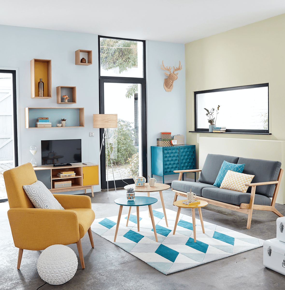 The 5 best colours for a happy home according to an interiors expert