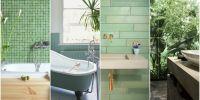 7 Green Bathroom Decor Ideas - Designs, Furniture and ...