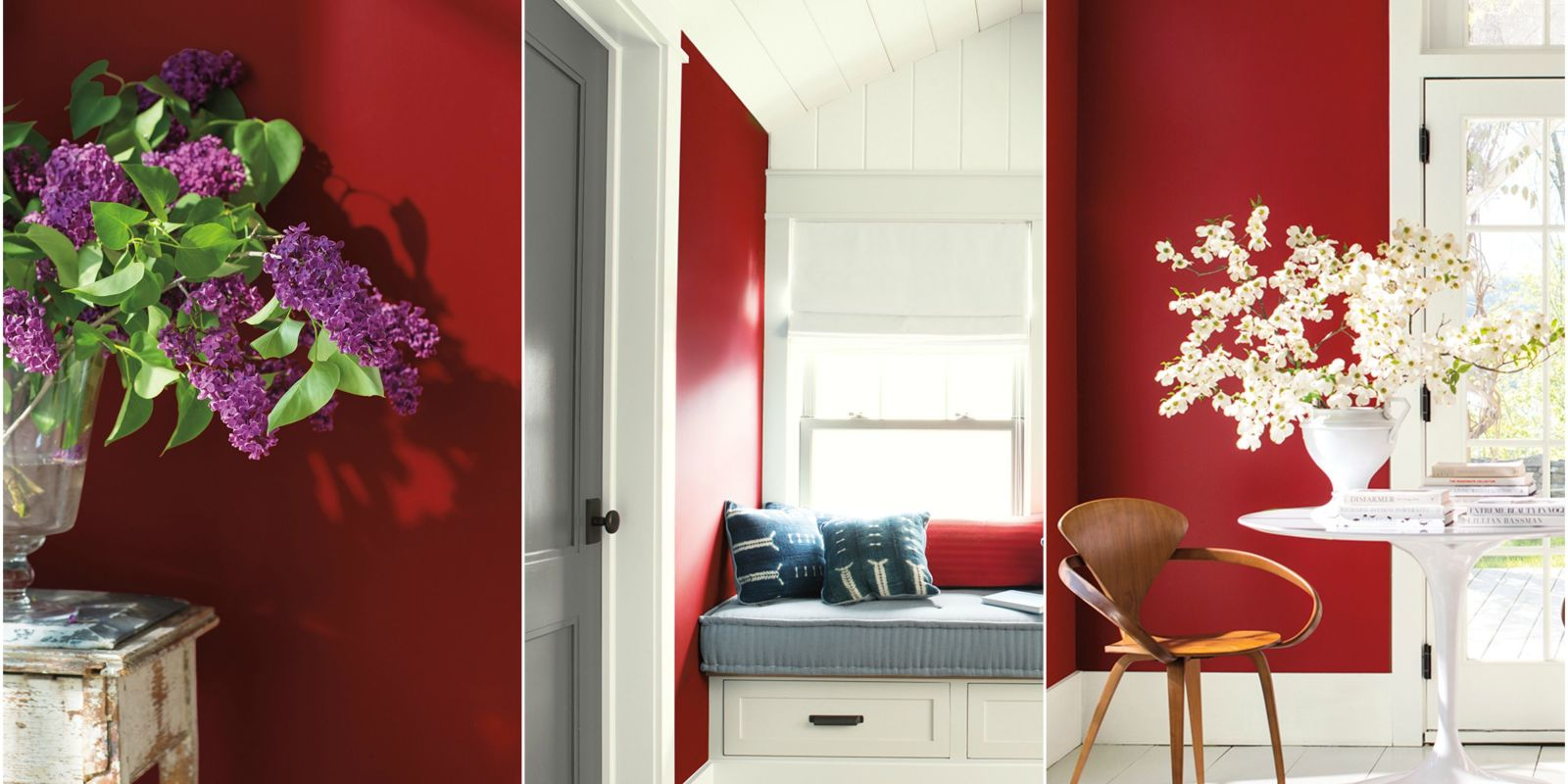 sofa designs in red colour leonardo leather regular recliner black caliente is benjamin moore's of the year 2018 ...