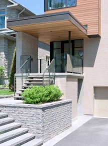 Modern Front Entry Canopy