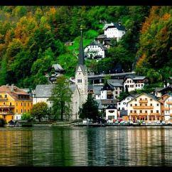 Renovated Kitchen Ideas Nooks Charming Austrian Village Of Hallstatt In Modern Era ...