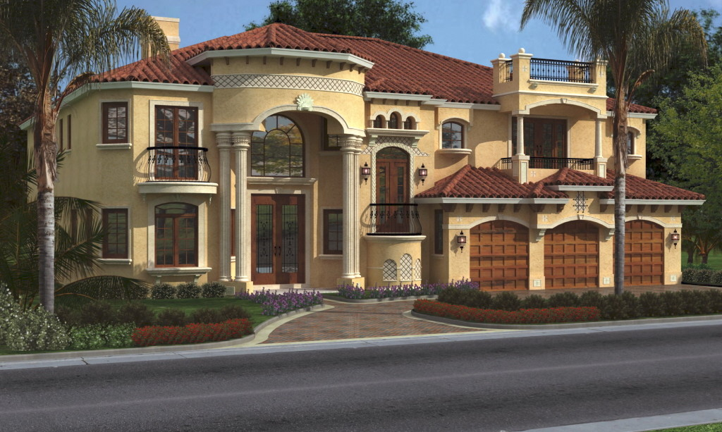 Cool Luxurious House Plans Applied in Large Building Style  HouseBeauty