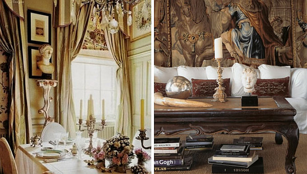 Splendid Elegant Interior Design Boosting the Room Using Sculptures  HouseBeauty