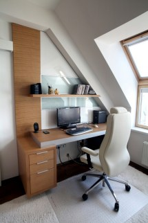Small Minimalist Home Office Design Ideas