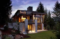 Amazing Modern Rustic House with Contemporary Style ...