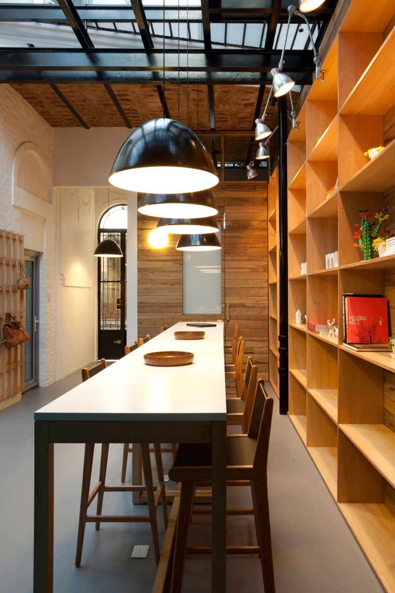 Trendy Office Design of the Animal Music Project  HouseBeauty