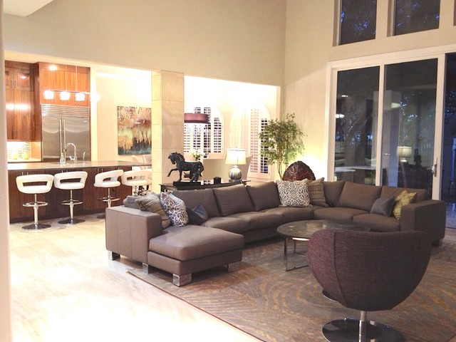 living room sofa design 2017 hamilton leather sienna glossy sectional in contemporary rooms ...
