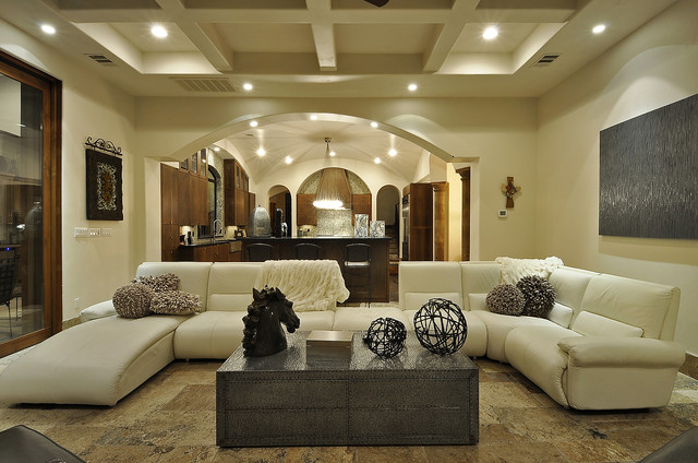 Comfortable Sectional Sofas For Modern Living Room