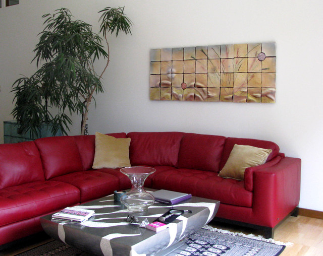 Gorgeous Red Sectional Sofa Plan in Fashionable Style Makes Your Internal Flash  HouseBeauty