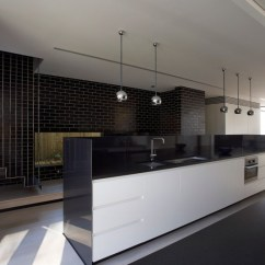 Black And White Kitchen Rug Table Light Fixtures Astonishing Contemporary Home Design With Suprising ...