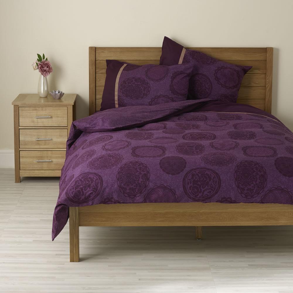 Elegant Purple Duvet Cover Installation For Your Beautiful