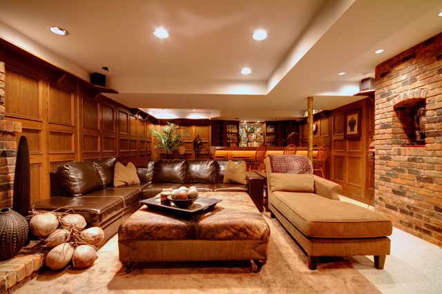 Glamorous Leather Sectional Sofas Display Classy Room