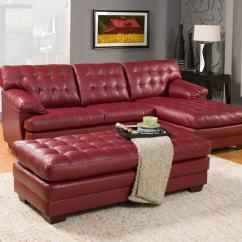 Decorating With Red Leather Sofas Sofa Bed Deals Nz Attractive For Interior Living Room
