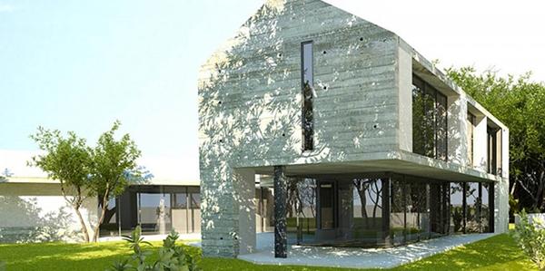 Dynamic Modern Barn Design as Trendy Living Space