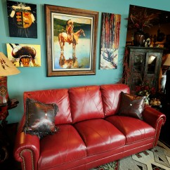 Decorating With Red Leather Sofas Colored Sofa Sets Adorable Collection Housebeauty