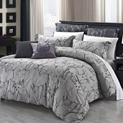Contemporary Sofa Sectional Grey Velvet Fabric Exquisite Duvet Cover Sets For Bedroom ...