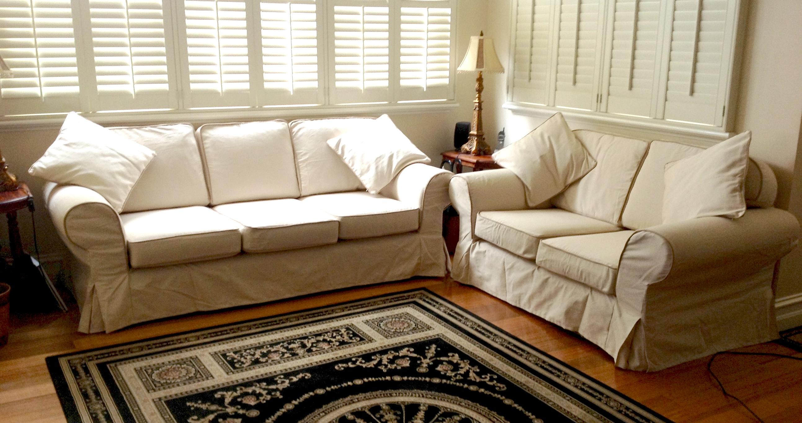 Decorative Slipcover Sofa For Astonishing Room Ideas
