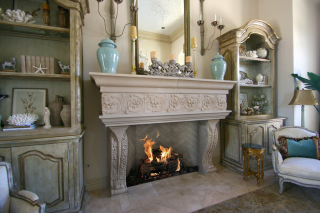 Astonishing Fireplace Mantel for Gorgeous Room Design  HouseBeauty