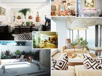 Merry Tropical Interior Design for Sweet Home : HouseBeauty