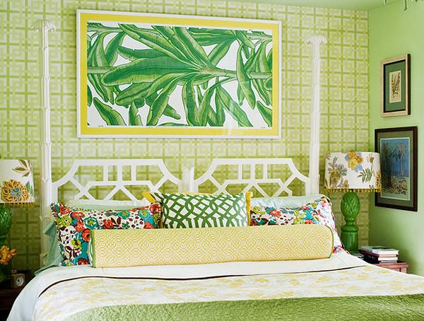 Merry Tropical Interior Design for Sweet Home  HouseBeauty