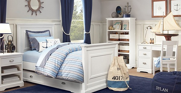 Trendy Nautical Design Ideas for Adults and Children Bedrooms  HouseBeauty