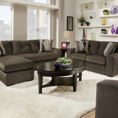 Living Room Design With Grey Sofa L Shaped Couch Inspiring Contemporary Sofas Various Styles : Housebeauty