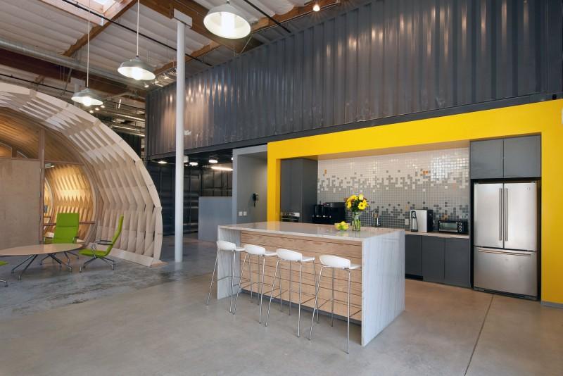 Fabulous Office Interior Design with Indoor Garden  HouseBeauty