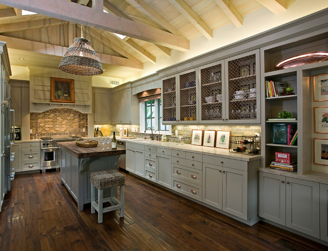 Inspiring Kitchen Cabinet Ideas Applying Various Cabinet Designs  HouseBeauty