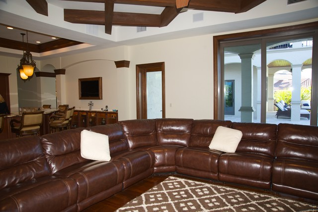 Enchanting Leather Sectional Sofa For Various Indoor Space Model HouseBeauty