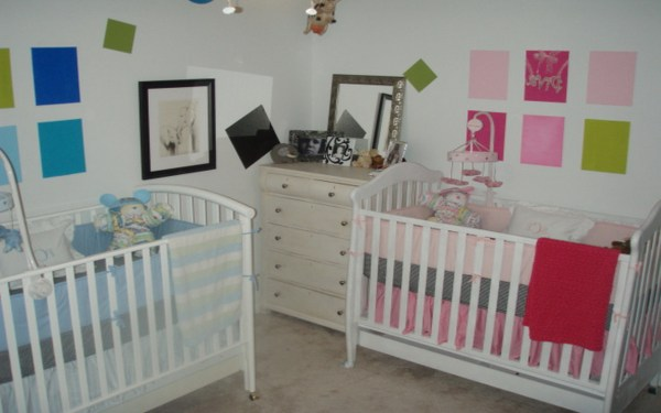 Marvelous Baby Cribs Designed In Twins Model Small Room Housebeauty