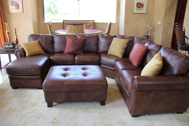 decorating living room dark brown leather sofa modern ideas enchanting sectional for various indoor space ...