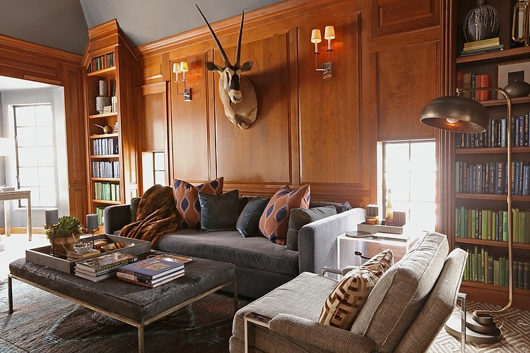 Glorious Country Club House Design In Vintage And Warm