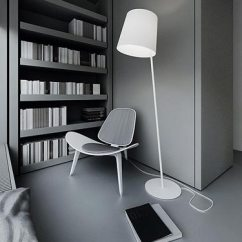Living Room Side Table Decoration Ideas Glass Lamps For Sincere Modern Scandinavian Interior With Designer's ...