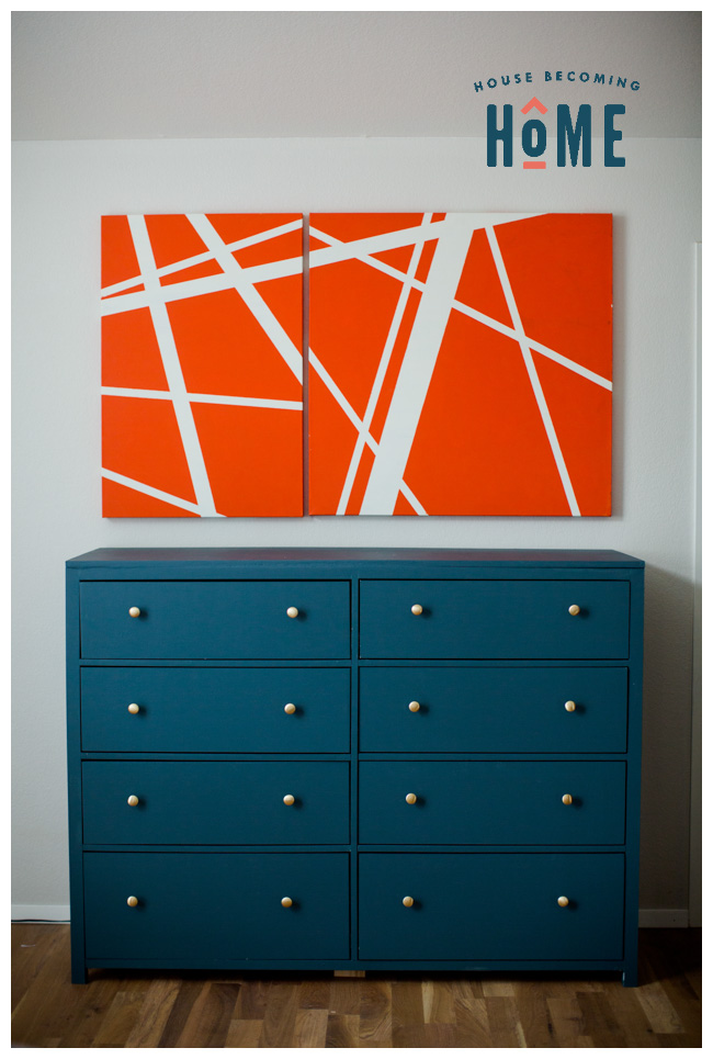 DIY eight drawer dresser simple