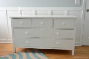 Sew Woodsy Kendal Dresser White DIY
