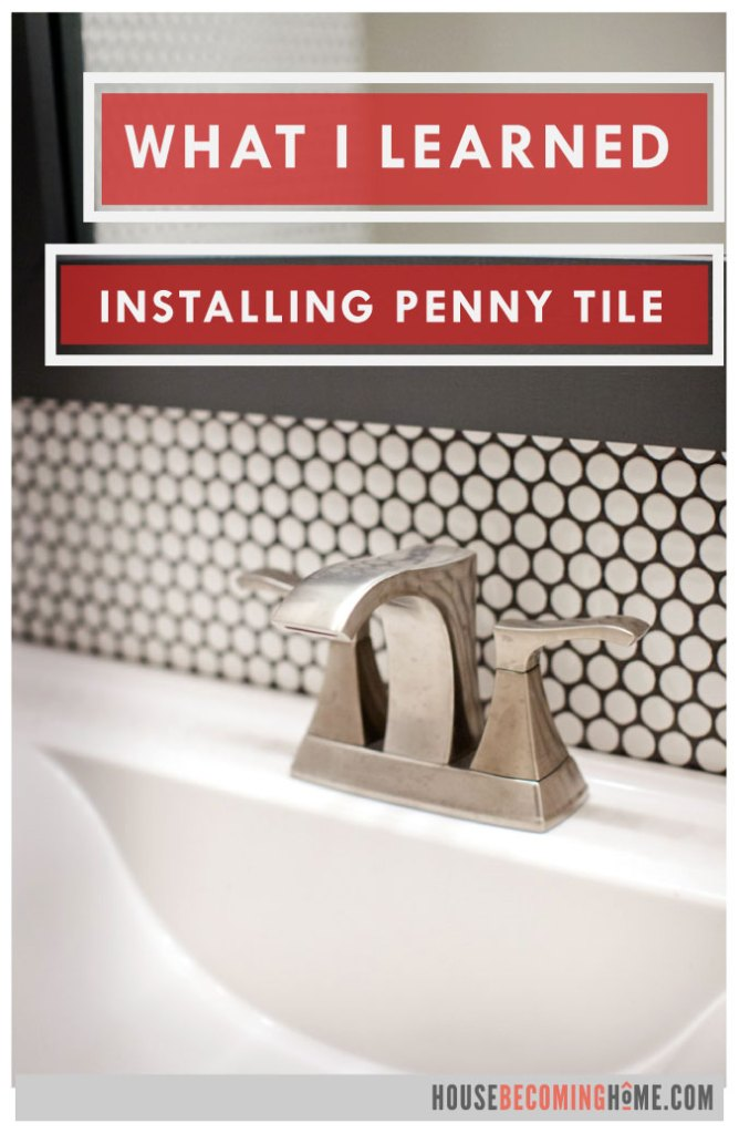 What I Learned Installing Penny Tile