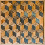Wood Art Challenge Geometric Wall Art