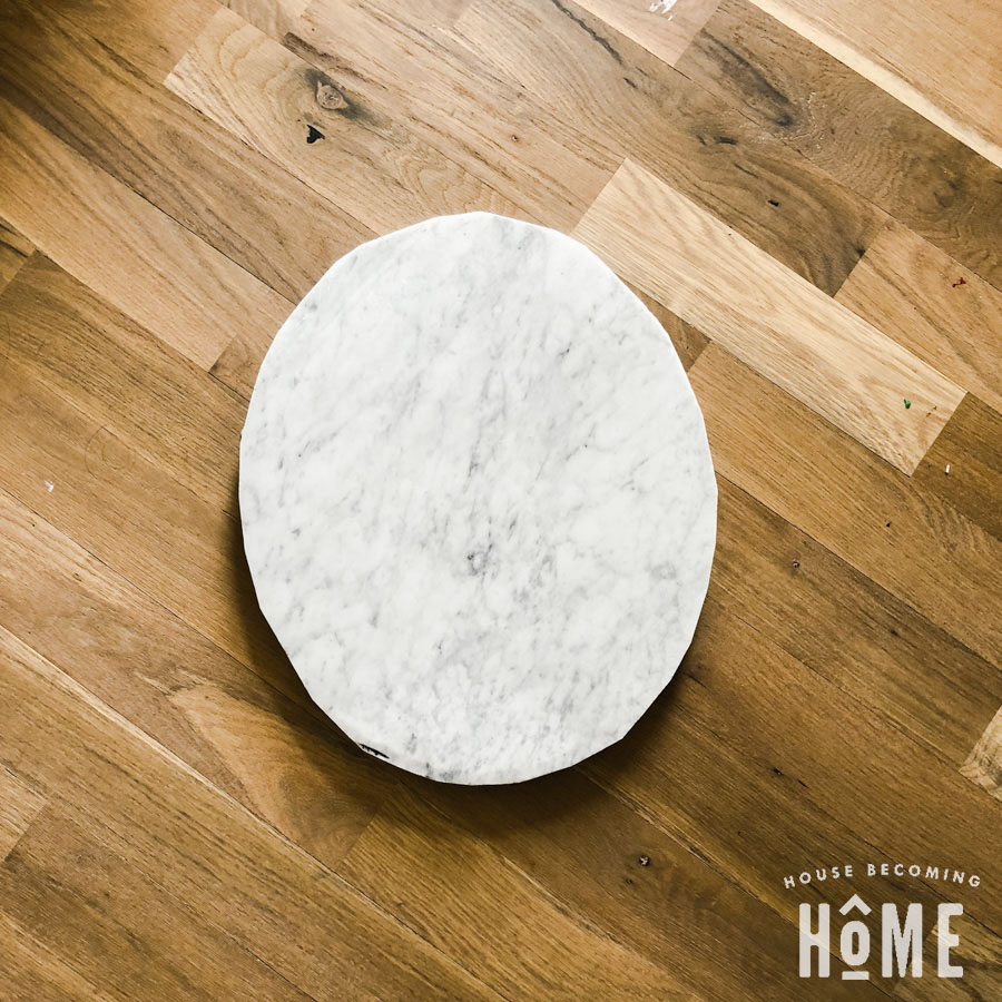 sink cutout marble for DIY light