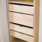 Build a Closet Organizer with Drawers - Perfect for Organizing Small Closets!