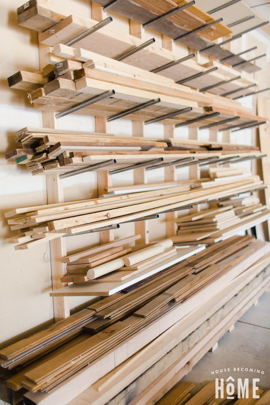 How To Build a Lumber Rack DIY Tips