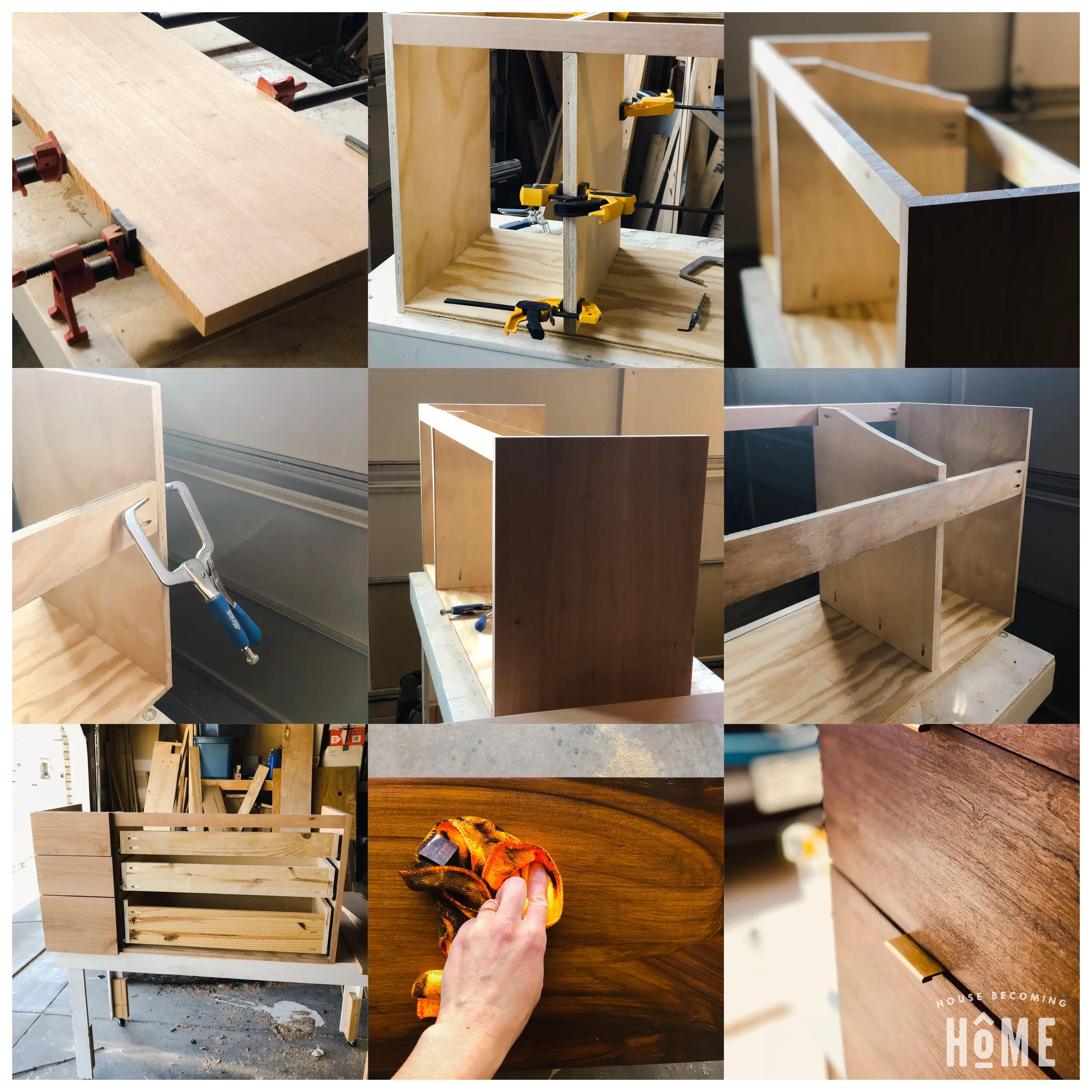 Ikea Odensvik Sink Vanity Plans Build Process
