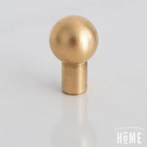 Solid Brass Cabinet Knob Ball