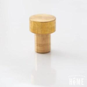 Solid Brass Knob Round Cylinder