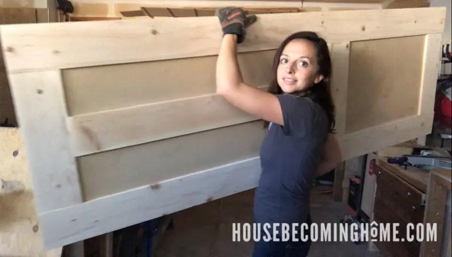 Make Your Own Craftsman Shaker 3-Panel Door