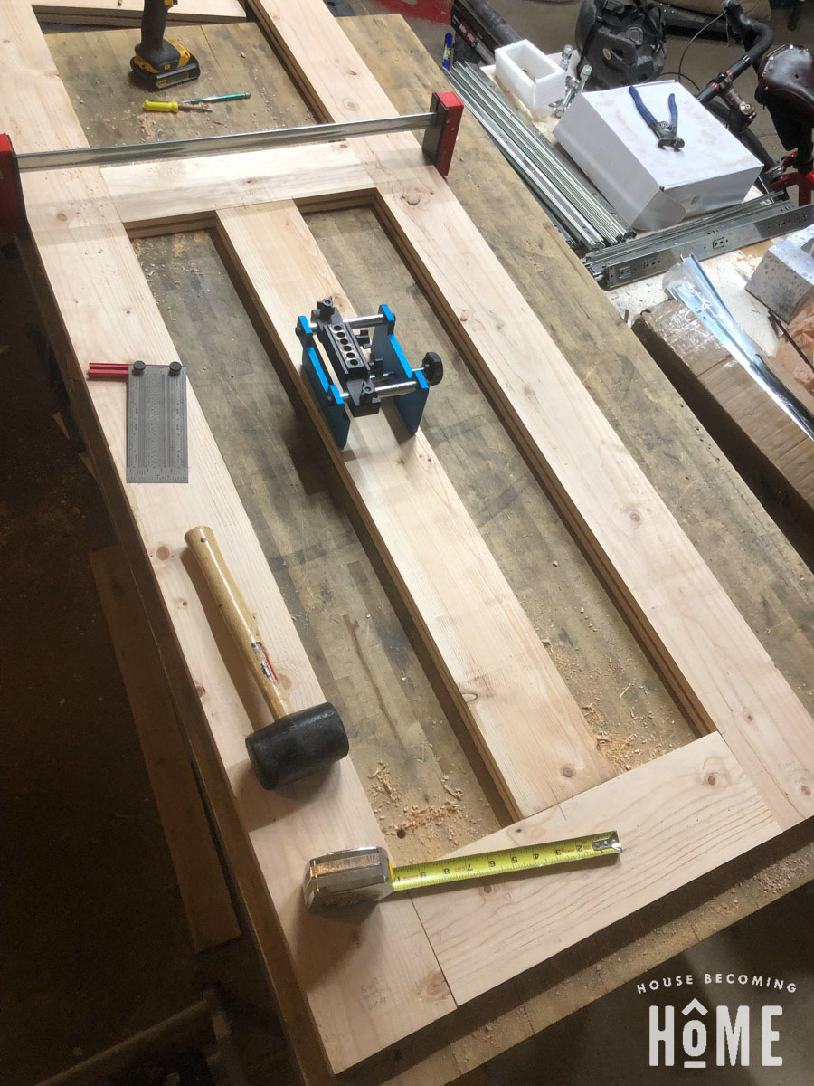 Dry Fit Loose Tenon Joinery