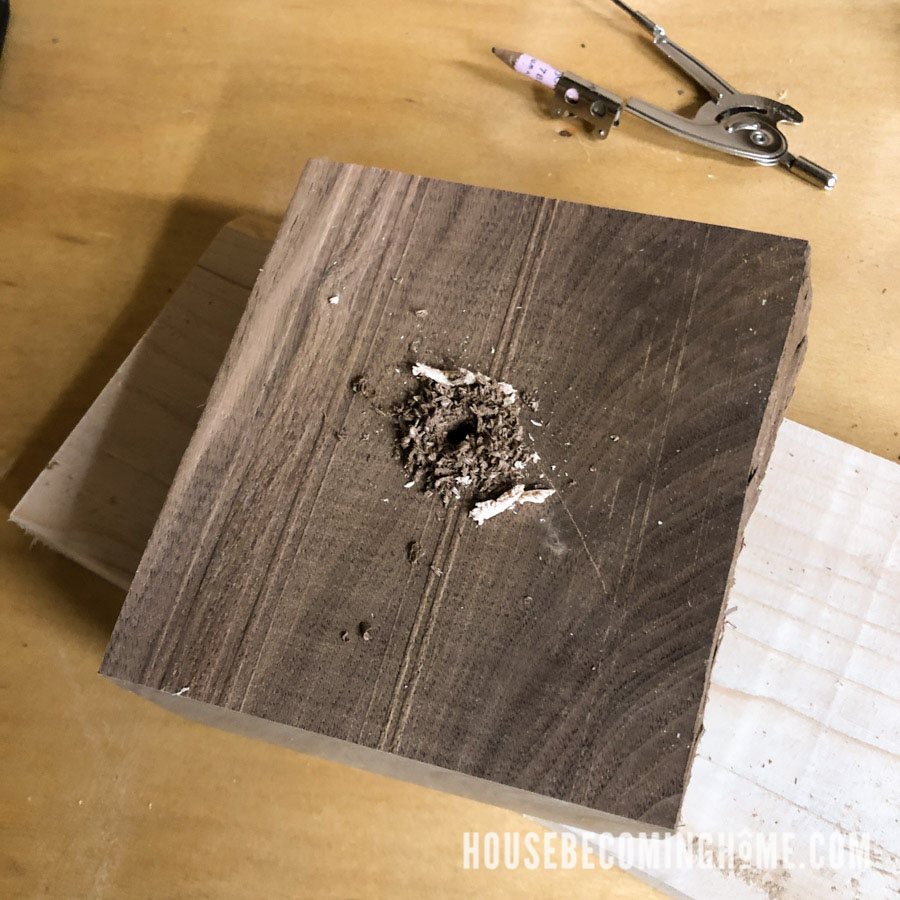Cutting A Tapered Wooden Cylinder